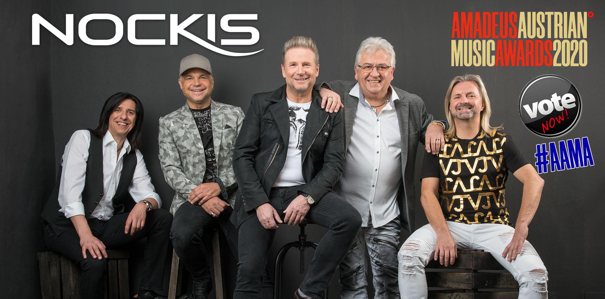 Nockis für Amadeus Austrian Music Awards 2020 nominiert