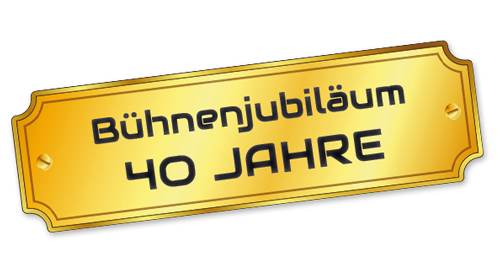 Jubiläums-Schild